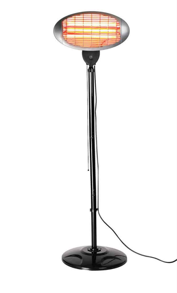 **AN ONLINE BEST SELLER**. Firefly 2KW Free Standing Infared Electric Patio  Heater Review