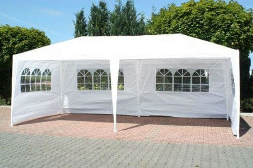 FoxHunter Waterproof 3m x 6m PE Gazebo review