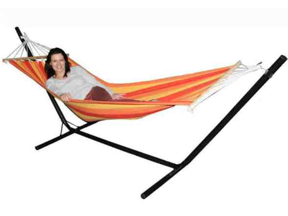 Redstone Luxury Hammock with Metal Stand Review
