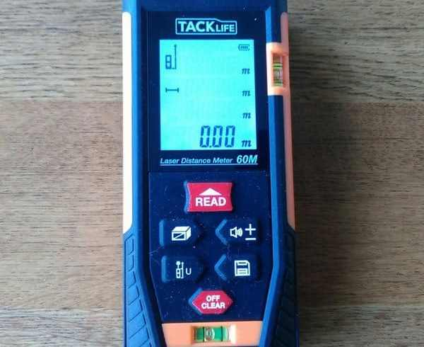 Tacklife HD40 Classic Digital Laser Distance Meter Review