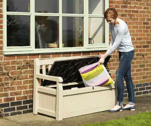 Keter Eden Bench Outdoor Storage Box Review