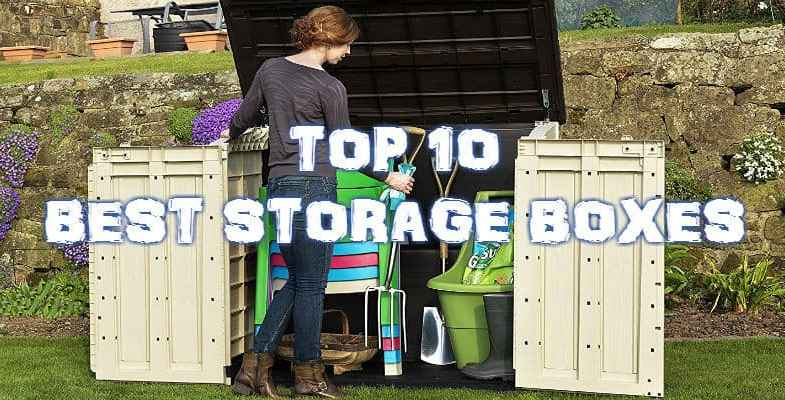 Top 10 Best Garden Storage Box – Reviewed and Compared