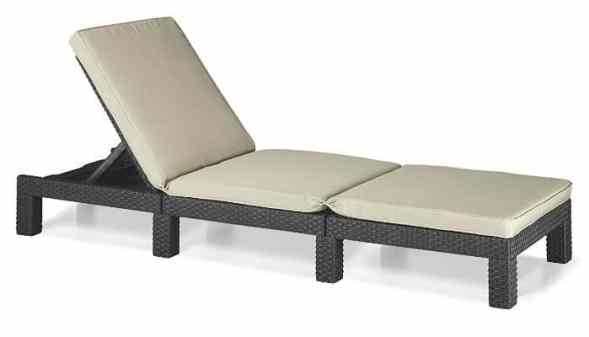 keter Allibert Daytona Sunlounger Review