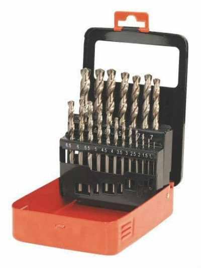 Sealey AK4701 Cobalt Drill Bit Set 19pc Metric Review