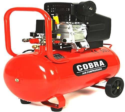 COBRA AIR TOOLS 50L 115psi AIR COMPRESSOR Review