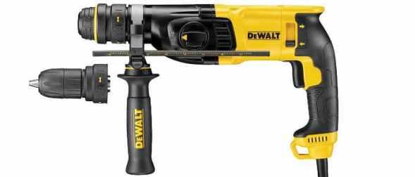Dewalt D25134K-GB 26 mm SDS Plus 3-Mode Hammer Review