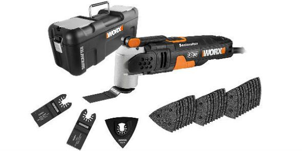 WORX WX680 F30 350W Oscillating Tool Review