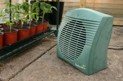 Botanico 2kw Greenhouse Heater Review