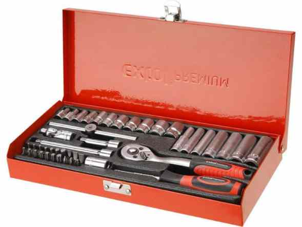 EXTOL PREMIUM 8818360 Socket Wrench Set 45-Piece Review