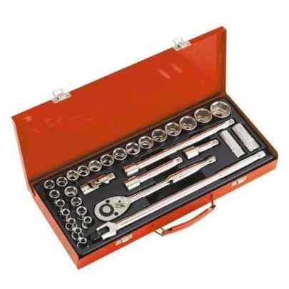 Sealey AK693 Square Drive Metric 6 Point Socket Set Review