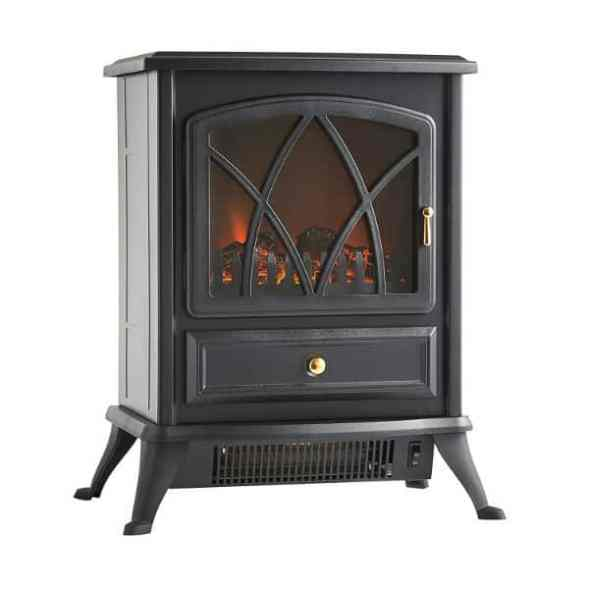 VonHaus 1850W Portable Electric Stove Heater Fire Place Review