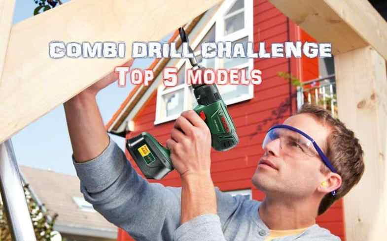 Best Combi Drill Reviews - Top 5 models including cordless combi drills