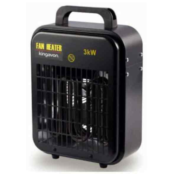 Kingavon 3 kW Industrial Garage Heater Review