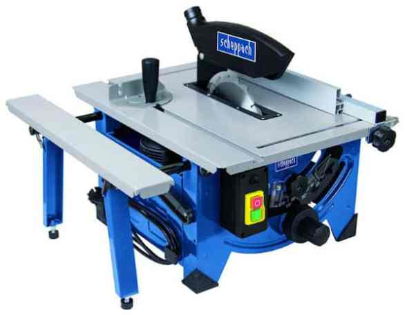 Scheppach 240V 8-inch Table Top Sawbench Review