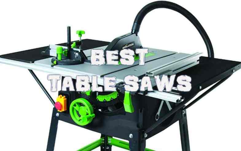 The Best Table Saw For 2019 – Detailed reviews of 10 models