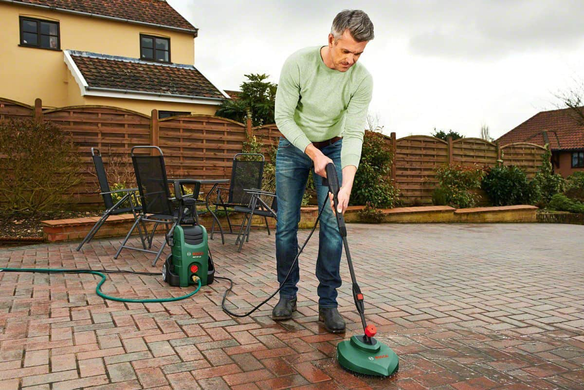 best pressure washer for patios driveways
