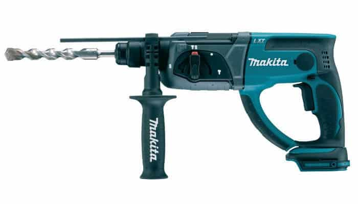 Makita DHR202Z 18v Cordless Li-ion SDS Plus Rotary Hammer Drill Review