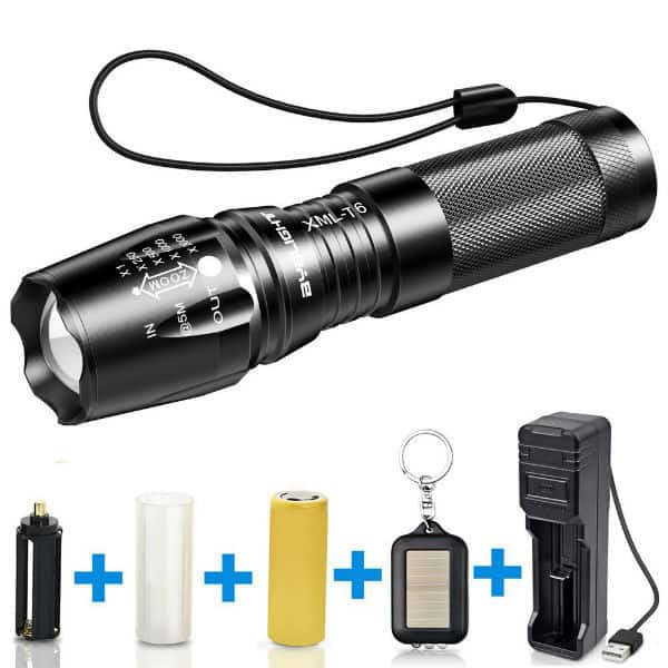 BYBLIGHT 800 Lumens CREE LED Torch Review