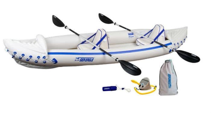Sea Eagle Inflatable Kayak - SE 370 Pro Review