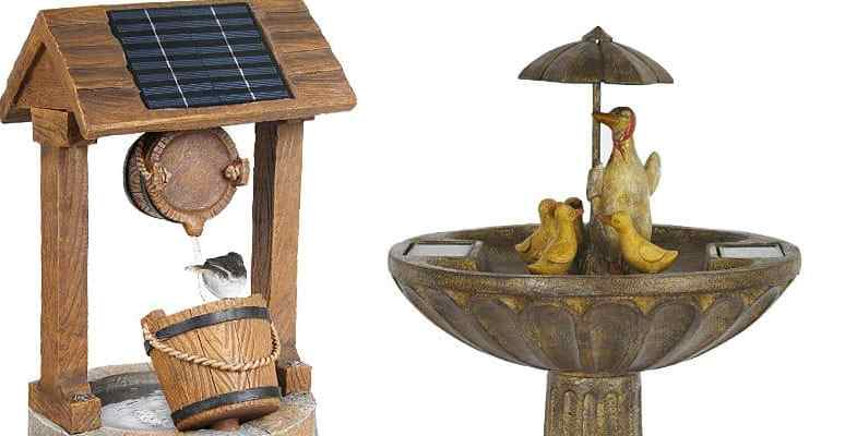 6 Amazing Solar Powered Water Features For Small Gardens