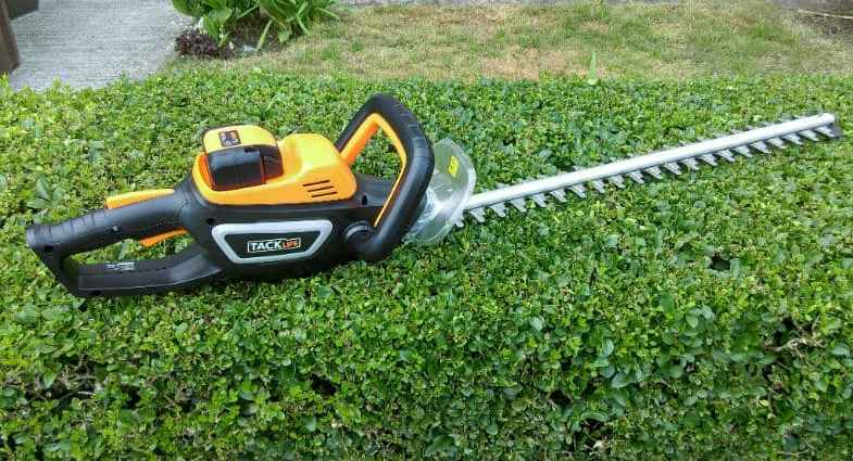Tacklife Cordless Hedge Trimmer Review