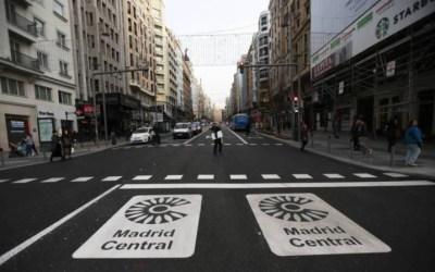 Los Juzgados comienzan a anular las multas de Madrid Central