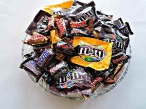 bowl of chocolates