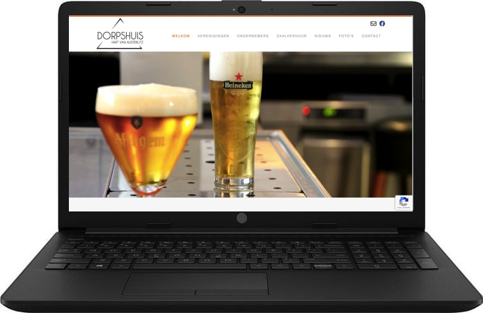 laptop dorpshuis
