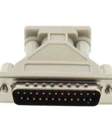 Computer Accessories Serial / parallel adapter – db9 female to db25 male [tag]