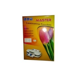 Home & Office Master A4 Laminating Pouches-100 pcs [tag]