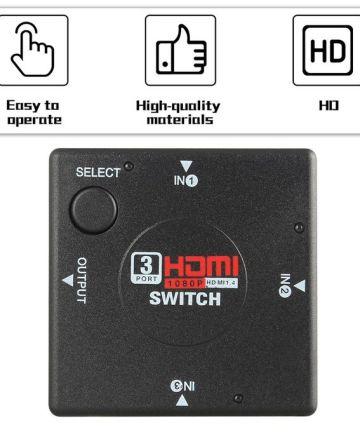 Computer Accessories Generic 3 port hdmi switch splitter [tag]