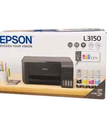 Computing Epson ecotank l3150 wi-fi all-in-one ink tank printer. Printer, Copiers, Scanner  [tag]
