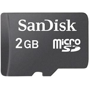 Computer Data Storage Sandisk 2gb memory card [tag]
