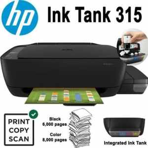Computing Hp ink tank 315 all -in-one printer [tag]
