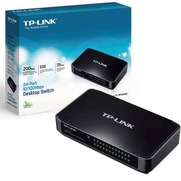 Hubs & Switches Tp link, 24-port 10/100mbps desktop/rackmount switch, tl-sf1024d [tag]