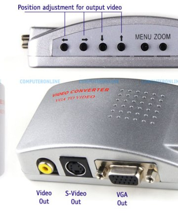 Computer Accessories Vga to video converters [tag]
