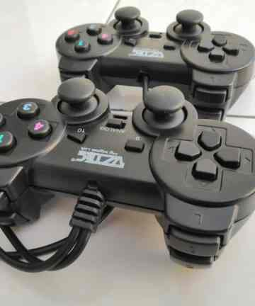 Computer Accessories Twin double usb shock controller game pad joystick [tag]