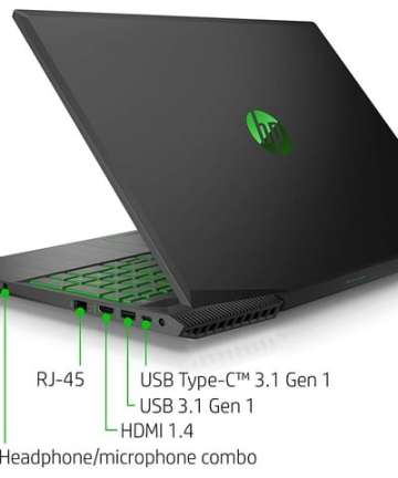 Computing HP Pavilion 15-cx0058 15.6 inch Gaming Notebook – Intel Core i5-8300H, NVIDIA GeForce GTX 1050TI 4GB GPU, 8GB RAM, 16 GB Intel Optane + 1TB HDD Storage, Windows 10 [tag]