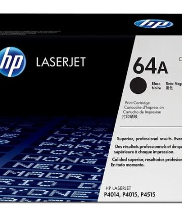 Printers & Accessories HP 64A (CC364A) Black Original LaserJet Toner Cartridge [tag]