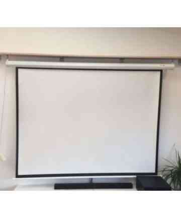 Electric projection screens MOTORIZED/ELECTRIC PROJECTION SCREEN | 84 X 84 INCHES [tag]