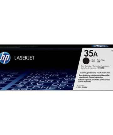 Printers & Accessories HP 35A Black Original LaserJet Toner [tag]