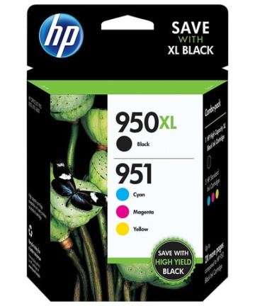 Printers & Accessories HP 950XL Black951 Tri-Color (C2P01FN140) Inkjet Cartridge [tag]