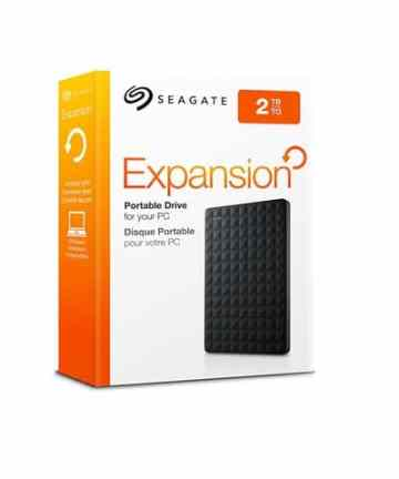 Computer Data Storage Seagate Expansion 2TB Portable External Hard Drive USB 3.0 [tag]