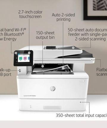Computing HP LaserJet Pro Multifunction M428fdw Wireless Laser Printer