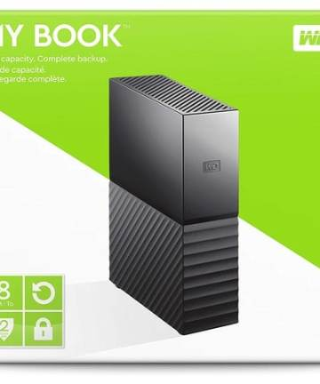 Cloud storage WD 8TB My Book Desktop External Hard Drive, USB 3.0 – WDBBGB0080HBK [tag]