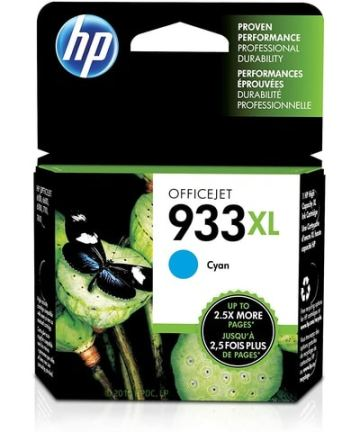 Printers & Accessories HP Ink Cartridge 933 XL Cyan [tag]