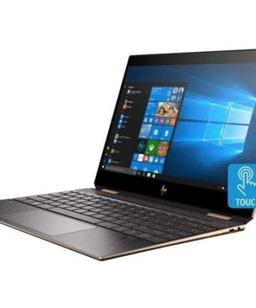 2 in 1 HP Spectre x360 13-aw0023dx 2in1 Gem Cut Laptop, 13.3″ FHD (1920×1080) IPS BrightView WLED Multi Touch Screen, Intel Core 10th Gen i7-1065G7 (up to 4 GHz), 16GB RAM, 1TB SSD, FHD OLED 4KDisplay IR Webcam, HP Pen, Windows 10 home [tag]