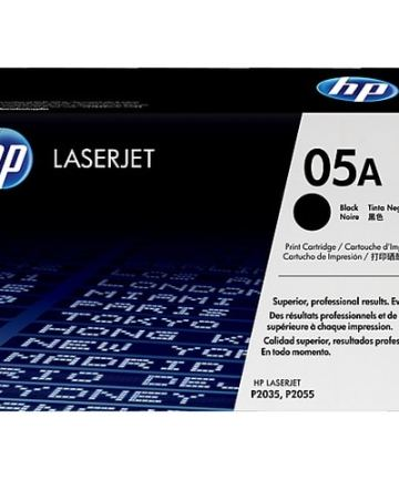 Printers & Accessories HP 05A (CE505A) Black Original LaserJet Toner Cartridge [tag]