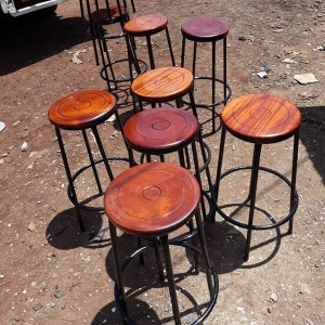 Schoolfurniturekenya Approved Laboratory Stools & Chairs with Mahogany Top [tag]