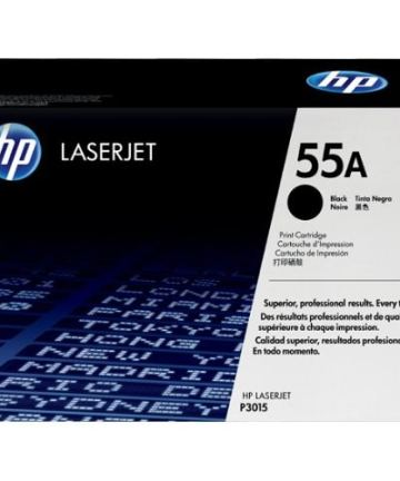 Printers & Accessories HP 55A (CE255A) Black Original LaserJet Toner Cartridge [tag]